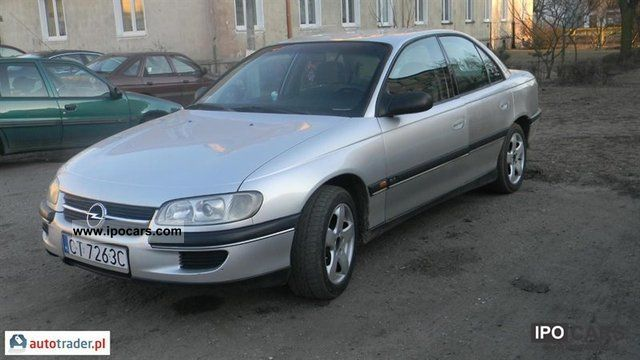 Opel  Omega 1998 Liquefied Petroleum Gas Cars (LPG, GPL, propane) photo