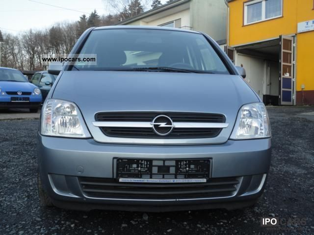 2004 opel meriva cdti air removable towbar car photo and specs. Black Bedroom Furniture Sets. Home Design Ideas