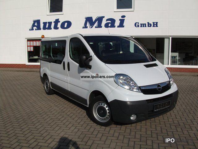 2007 opel vivaro l1h1 2 0 bus 9 seats car photo and specs. Black Bedroom Furniture Sets. Home Design Ideas