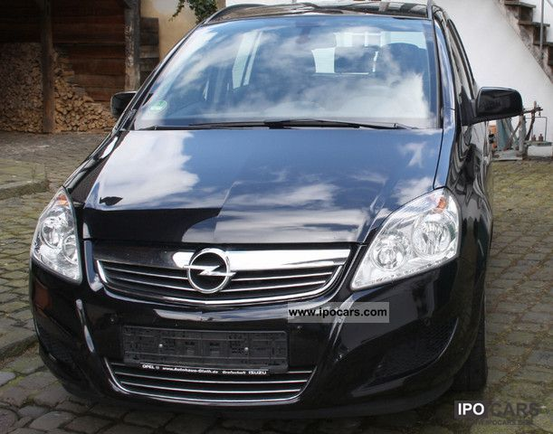 2009 opel zafira 1 7 cdti ecoflex edition parktronic car photo and specs. Black Bedroom Furniture Sets. Home Design Ideas
