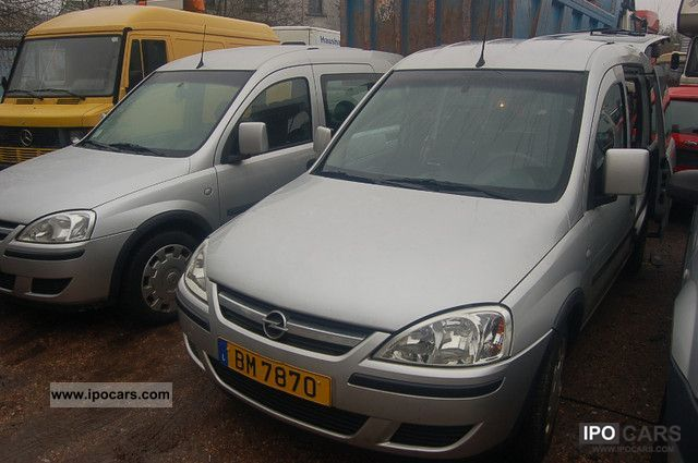Opel  Combo 1.6 CNG Edition Air Gas & Bezin-2 pieces 2007 Compressed Natural Gas Cars (CNG, methane, CH4) photo