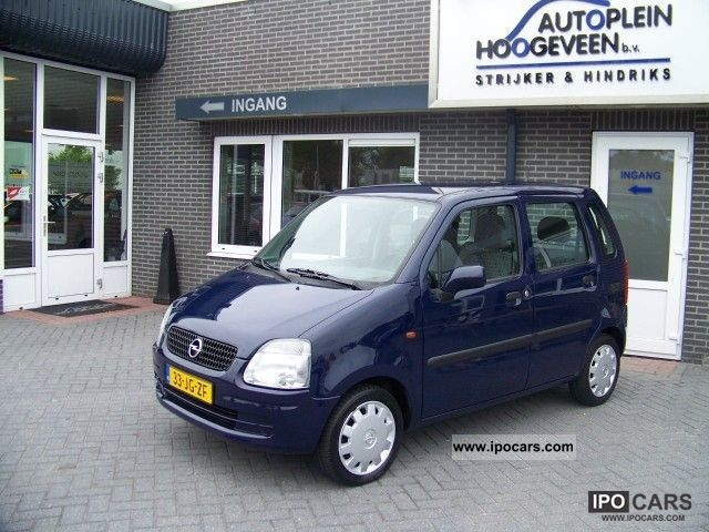 2002 Opel  Agila 1.2 16v 5drs. Van / Minibus Used vehicle photo