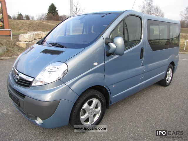 2007 opel vivaro 2 5 cdti 145ps dpf life multivan 7 seater. Black Bedroom Furniture Sets. Home Design Ideas