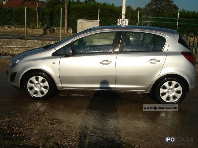 2011 opel corsa 1 3 cdti 75 ecoflex coolline car photo and specs. Black Bedroom Furniture Sets. Home Design Ideas