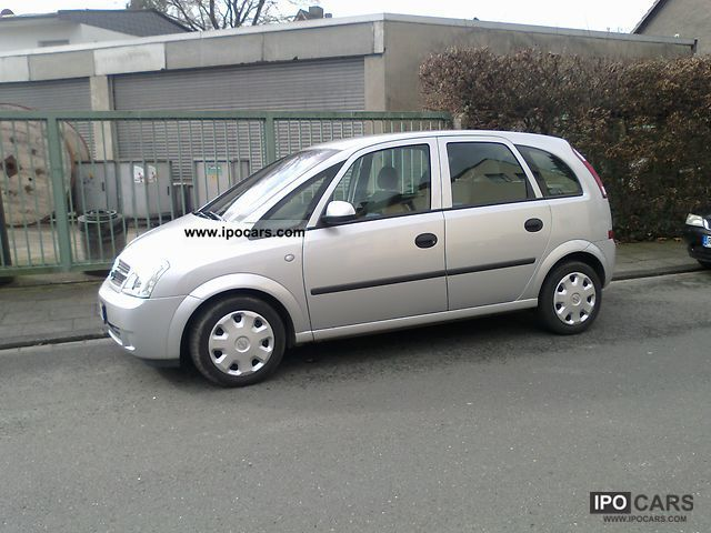 2004 opel meriva 1 4 car photo and specs. Black Bedroom Furniture Sets. Home Design Ideas