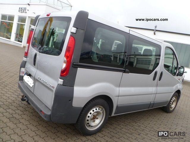 2007 Opel  Vivaro 2.5 CDTI L1Tour AHK Air PDC 9 seats Estate Car Used vehicle photo