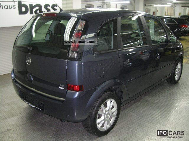 2008 opel meriva 1 8 16v cosmo cd30mp3 klimaautom parkpil car photo and specs. Black Bedroom Furniture Sets. Home Design Ideas