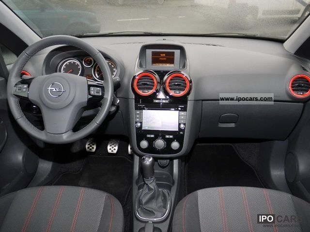 2010 opel corsa color edition climate control navigation zenec car photo and specs. Black Bedroom Furniture Sets. Home Design Ideas