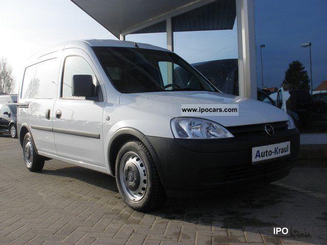2009 Opel  1,3 CDTI Combo Box, DPF, sliding door, Heckflüg Van / Minibus Used vehicle photo