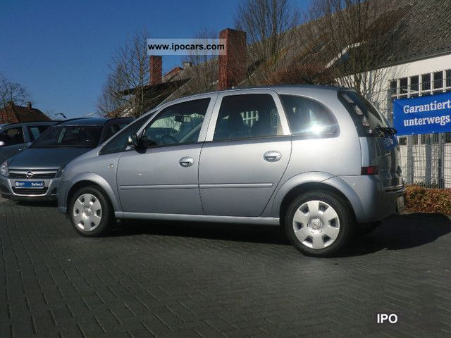 2008 opel meriva 1 6 16v edition radio cd 30 mp3 car photo and specs. Black Bedroom Furniture Sets. Home Design Ideas