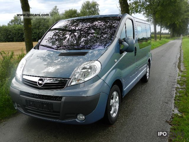 2007 opel vivaro 2 5 cdti l1h1 tour cosmo 72 tkm car. Black Bedroom Furniture Sets. Home Design Ideas