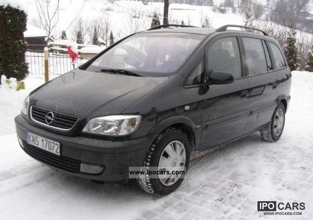 2002 opel zafira elegance car photo and specs. Black Bedroom Furniture Sets. Home Design Ideas