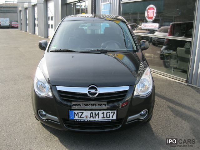 2010 opel agila 1 2 edition reduced car photo and specs. Black Bedroom Furniture Sets. Home Design Ideas
