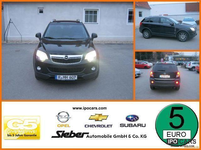 2012 Opel  Antara 2.2 CDTI Design Edition Seat heating * allra Limousine Used vehicle photo