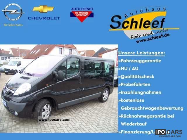 2011 Opel  2.0 CDTI Vivaro 9 seater air- Estate Car Used vehicle photo