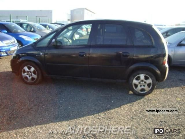 2008 opel meriva 1 7 cdti enjoy car photo and specs. Black Bedroom Furniture Sets. Home Design Ideas