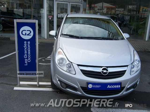 2009 opel corsa corsa 1 3 cdti 90 cosmo car photo and specs. Black Bedroom Furniture Sets. Home Design Ideas