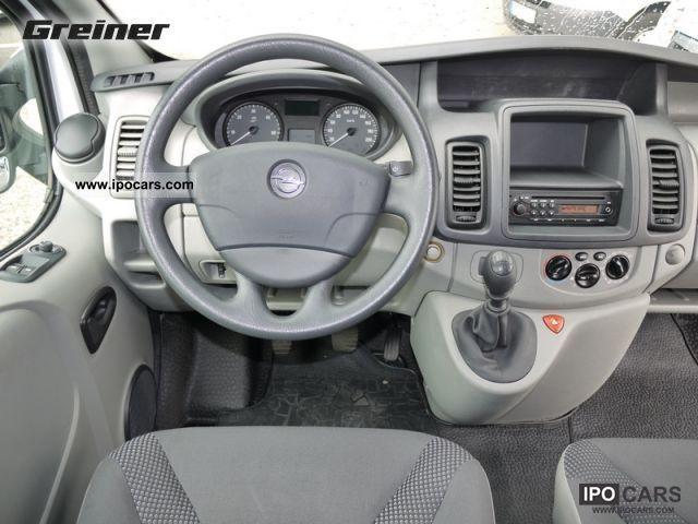 2011 Opel Vivaro 2 0 Cdti Dpf L2h1 Car Photo And Specs