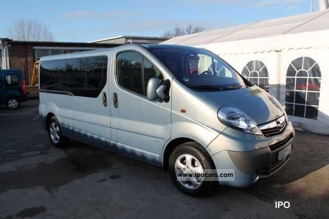 2011 opel vivaro 2 0 cdti design edition combi l2h1 2 9 t d car photo and specs. Black Bedroom Furniture Sets. Home Design Ideas
