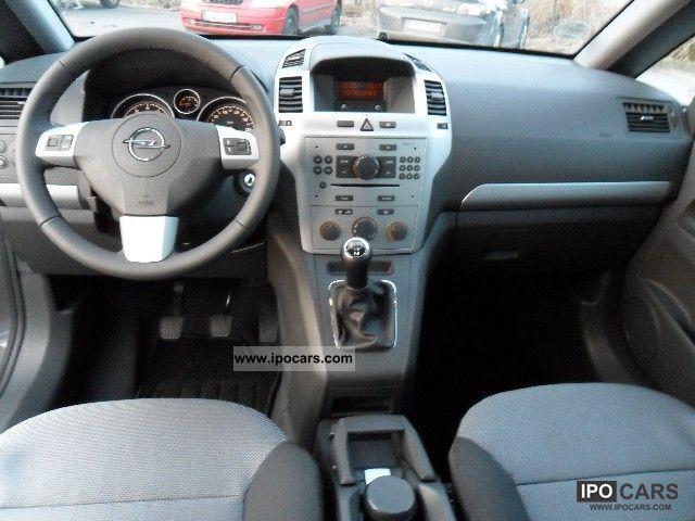 2012 Opel Zafira B 1 6 Ecoflex Family Car Photo And Specs