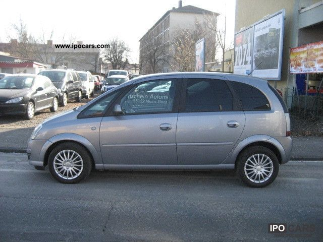 2008 Opel Meriva 1 7 Cdti Dpf Edition Car Photo And Specs