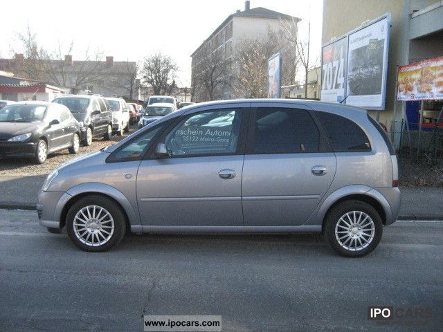 2008 opel meriva 1 7 cdti dpf edition car photo and specs. Black Bedroom Furniture Sets. Home Design Ideas