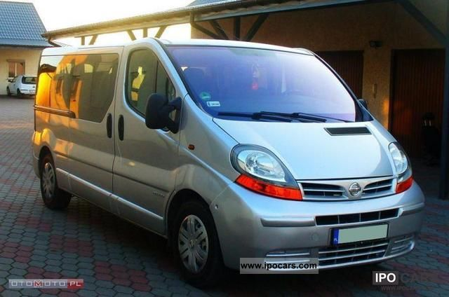 2006 Opel  * DCI Vivaro, 9 osob, climate, ideal, ZRJSTR Van / Minibus Used vehicle photo