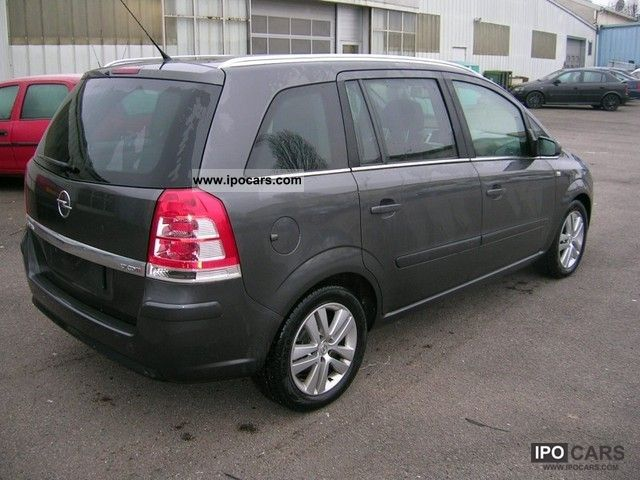 2010 opel zafira 1 7 cdti125 fap magnetic car photo and specs. Black Bedroom Furniture Sets. Home Design Ideas