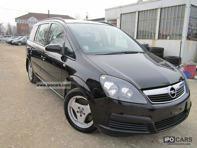 2005 opel zafira 2 0 turbo sport car photo and specs. Black Bedroom Furniture Sets. Home Design Ideas