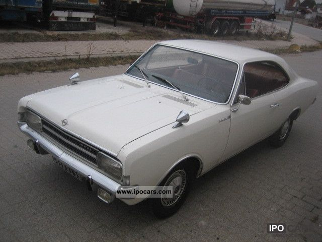 Opel  Record C 1700S Coupe 1967 Vintage, Classic and Old Cars photo