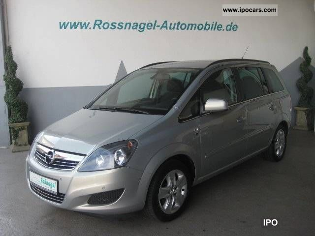 2010 Opel  Zafira 1.6 to 111 years-€ 5 standard- Estate Car Used vehicle photo
