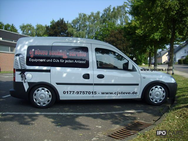 Opel  Combo 1.6 CNG 2005 Compressed Natural Gas Cars (CNG, methane, CH4) photo