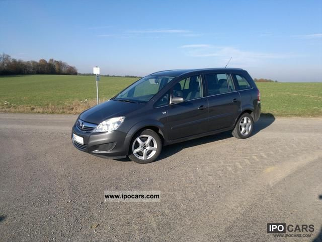 2009 opel zafira 1 6 cng turbo car photo and specs. Black Bedroom Furniture Sets. Home Design Ideas