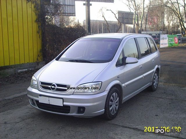 2005 opel zafira dti car photo and specs. Black Bedroom Furniture Sets. Home Design Ideas