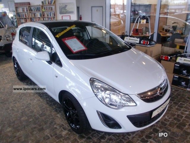 2011 opel corsa d color edition 14 alu air small car used vehicle photo - Opel Corsa Color Edition