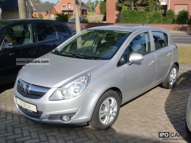 2010 opel corsa d 1 3 cdti cmon car photo and specs. Black Bedroom Furniture Sets. Home Design Ideas