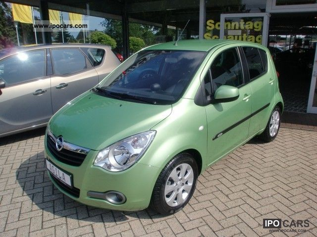 2010 opel agila edition 1 2 climateandgeographicalconditions style package car photo and specs. Black Bedroom Furniture Sets. Home Design Ideas