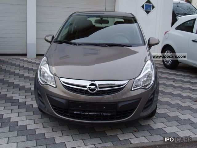 2012 opel corsa 1 2 16 v selection ecoflex car photo and specs. Black Bedroom Furniture Sets. Home Design Ideas