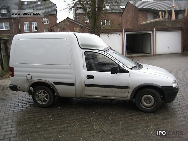 1996 Opel Combo 1 7 Car Photo And Specs
