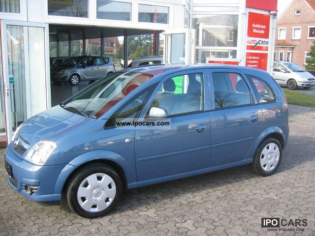 2008 opel meriva 1 6 16v edition car photo and specs. Black Bedroom Furniture Sets. Home Design Ideas