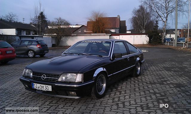 Opel  Monza GSE a LPG Autogas 1984 Liquefied Petroleum Gas Cars (LPG, GPL, propane) photo