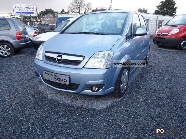 2008 opel meriva 1 4 edition air car photo and specs. Black Bedroom Furniture Sets. Home Design Ideas