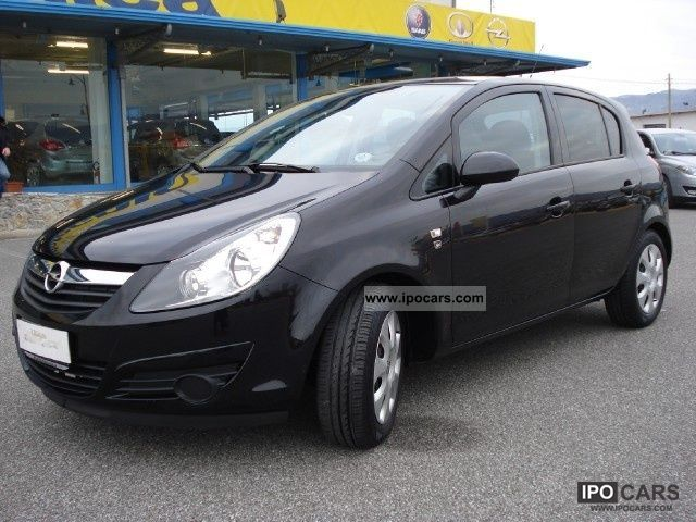 2010 opel corsa 1 2 16v 5 porte edition car photo and specs. Black Bedroom Furniture Sets. Home Design Ideas