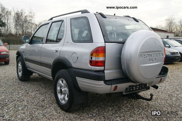 1998 opel frontera 3 2 limited 4x4 1 hand only 66 tkm car photo and specs. Black Bedroom Furniture Sets. Home Design Ideas