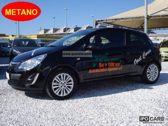 Opel  Corsa 1.2 16V 3 porte Elective METANO 2012 Compressed Natural Gas Cars (CNG, methane, CH4) photo