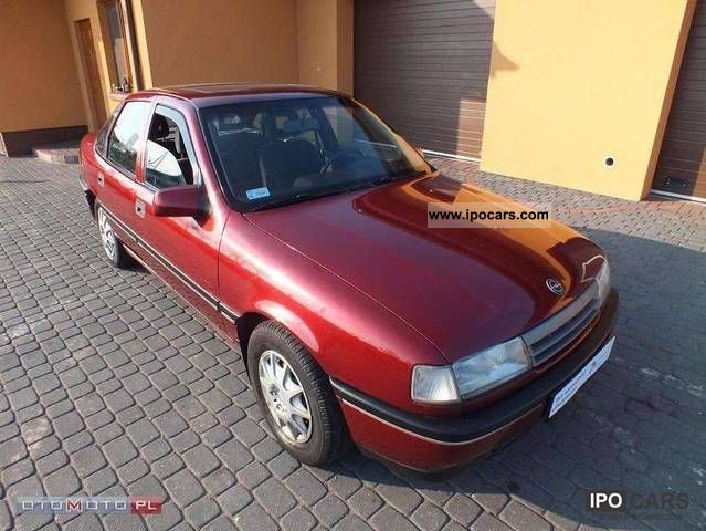 Opel  Vectra 1.8 + GAZ_SEDAN_WSPOMAGANIE 1992 Liquefied Petroleum Gas Cars (LPG, GPL, propane) photo