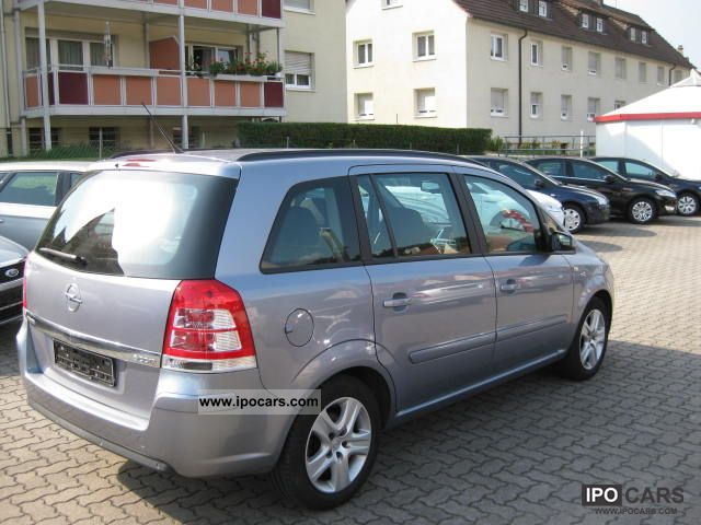 2009 opel zafira 1 7 cdti ecoflex edition car photo and specs. Black Bedroom Furniture Sets. Home Design Ideas