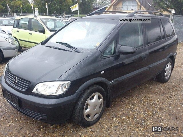 2002 opel zafira 2 0 dti 16v comfort flex ivan car photo and specs. Black Bedroom Furniture Sets. Home Design Ideas