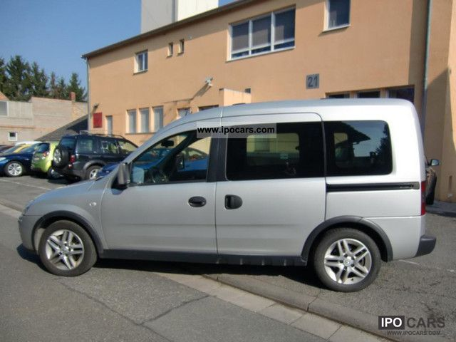 2009 opel combo 1 7 cdti edition with climate car photo and specs. Black Bedroom Furniture Sets. Home Design Ideas