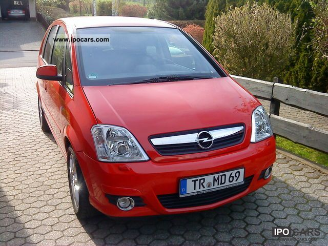 2008 opel meriva 1 7 cdti dpf cosmo car photo and specs. Black Bedroom Furniture Sets. Home Design Ideas